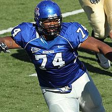 """2012 NFL Draft prospect, Dontari Poe"""