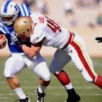 """""""2012 NFL Draft prospect, Luke Kuechly"""""""