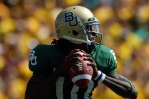 RGIII climbing up the 2012 NFL Draft