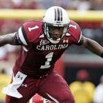"""""""2012 NFL Draft prospect, Alshon Jeffery"""""""