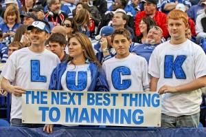 """""""2012 NFL Draft prospect, Andrew Luck"""""""