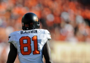 """2012 NFL Draft prospect, Justin Blackmon"""