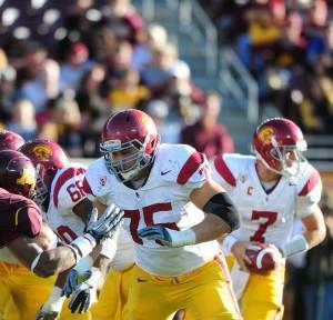 """2012 NFL Draft prospect, Matt Kalil"""