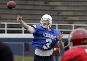 """2012 NFL Draft prospect, Brandon Weeden"""