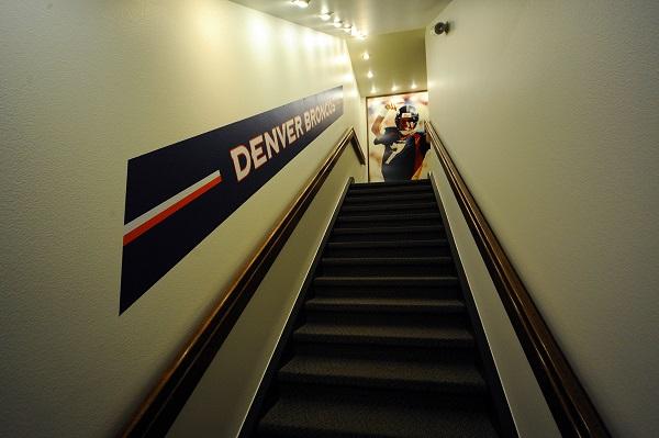 """""""Denver Broncos war room"""""""