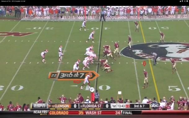 Hopkins vs top NFL draft prospect Xavier Rhodes of Florida State